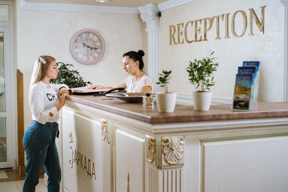 Рецепція санаторій Аркада