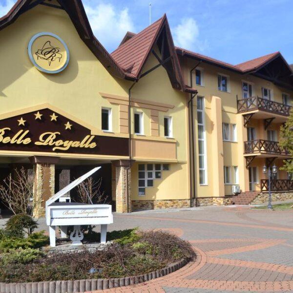 Спа готель Бель Рояль територія