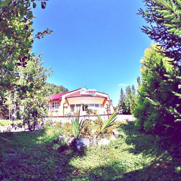 санаторій Теплиця Виноградів, відпочинок в Закарпатті територія