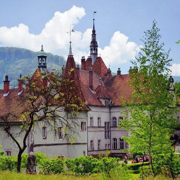 санаторій карпати замок Шенборна