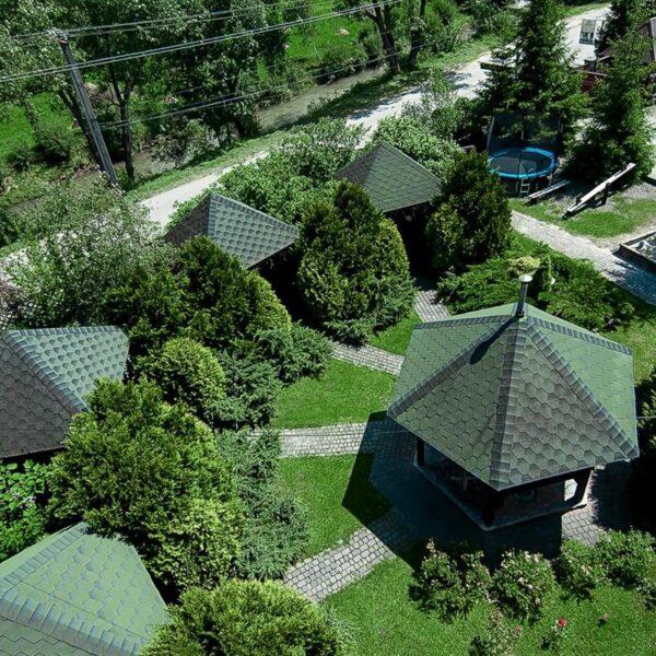 Готель Лагуна з висоти пташиного польоту