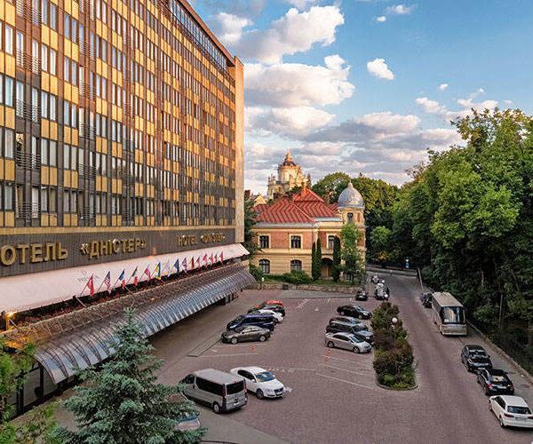 готель Дністер Львів головна