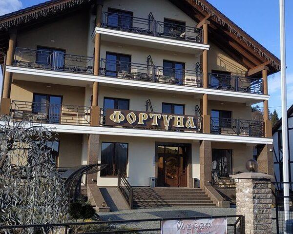 готель фортуна Східниця територія