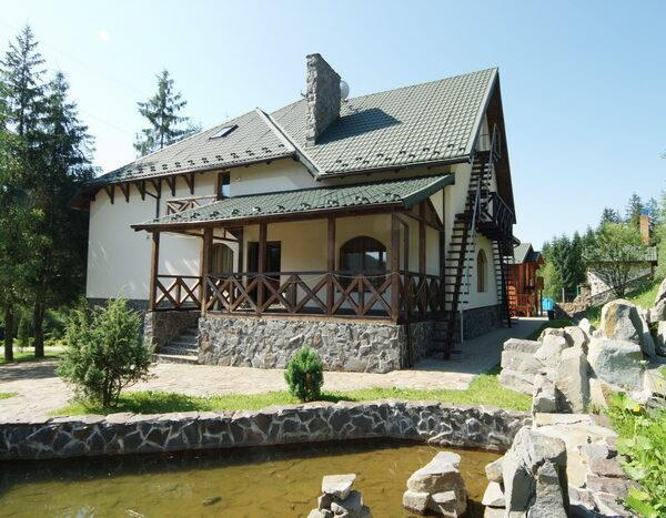 готель Зербань Славське територія