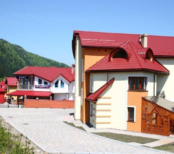 готель Ліліана фото території