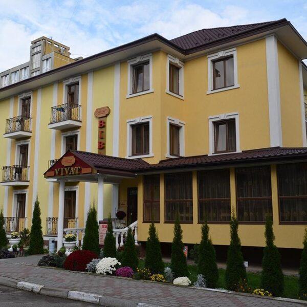 Готель Віват територія, відпочинок в Моршині