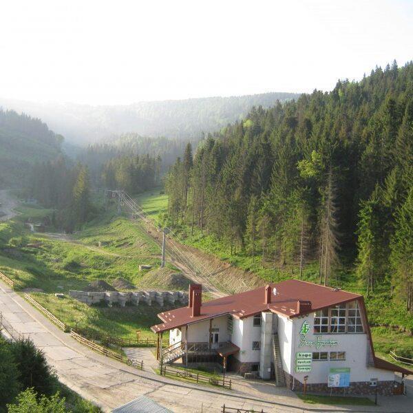 готель на Горбі територія, відпочинок у Славську