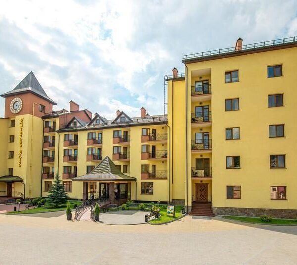 Готель Київська Русь Східниця територія