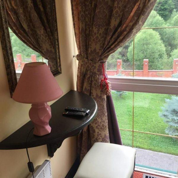 Вид с окна в номера отеля Золотая Подкова