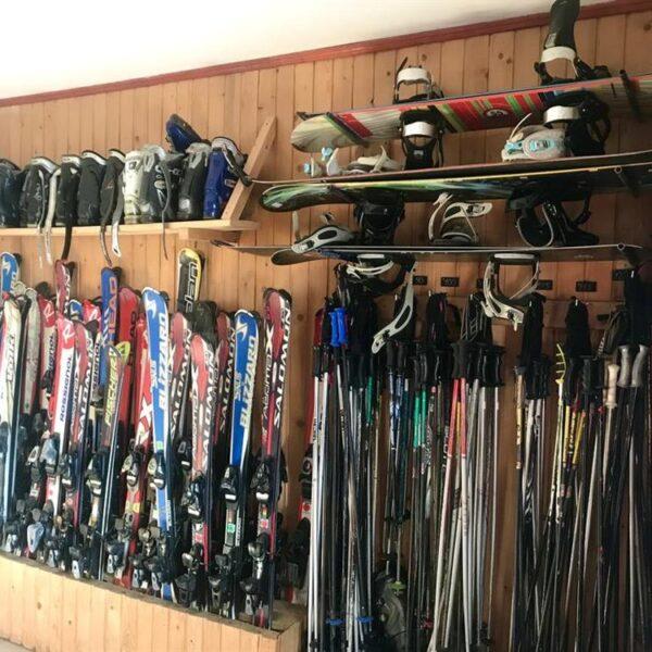 Прокат лыж в усадьбе «Горный свитанок»