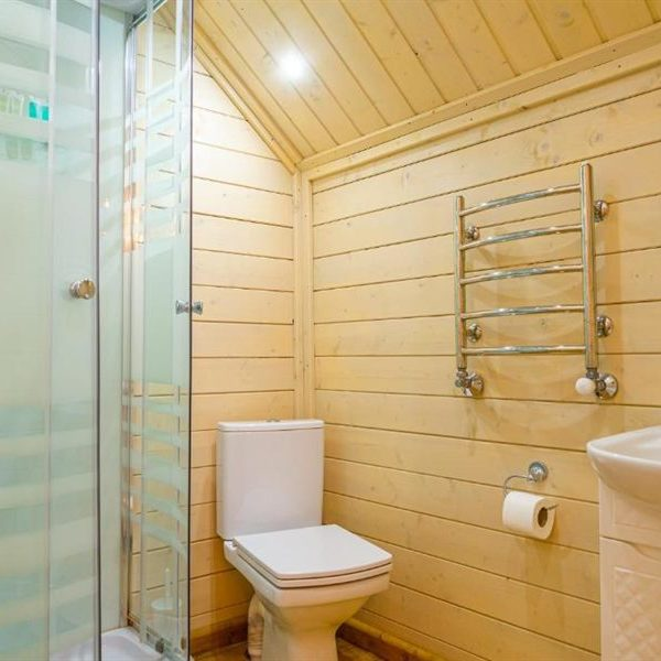 ванна кімната в котеджі вілли Альпійка Славське