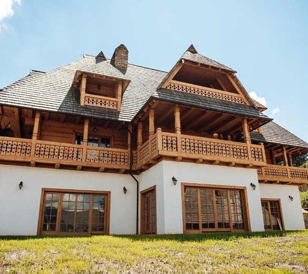 Танхаус с двумя спальнями отель Панщина Славское