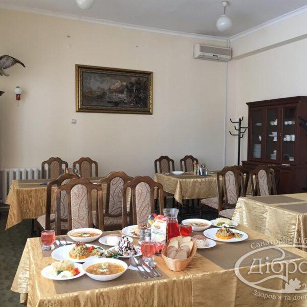 Ресторан в санаторії Діброва