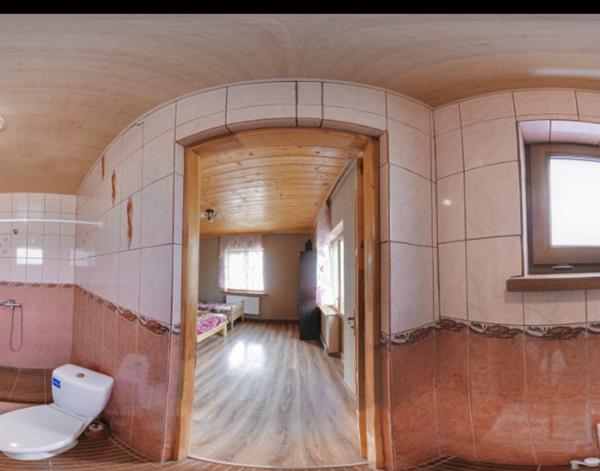 Ванная комната в отеле Аура Карпат
