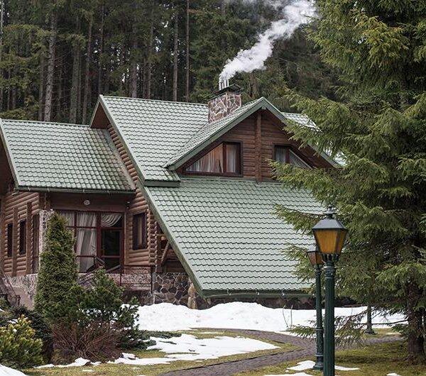 Будинок в оточенні карпатських лісів Лісовий маєток Славське