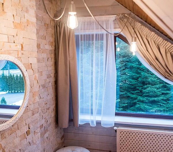 Санвузол в готелі Лісовий маєток