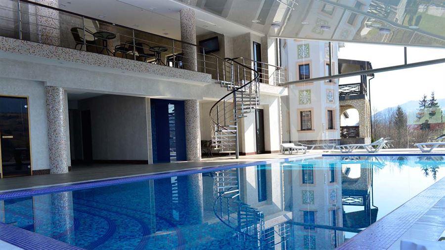 СПА-центр в отеле Двор Княжей Короны