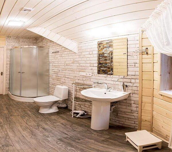 Уютная ванная комната Отель «Лісовий маєток» Славское