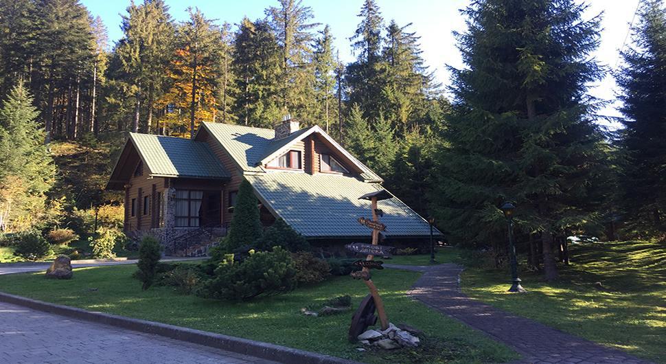 Отель в окружение леса Лесной маеток Славское