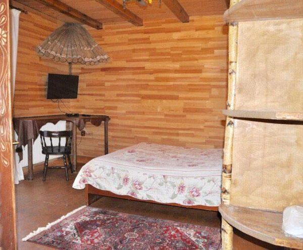 Уютная кровать в отеле Рандеву Славское
