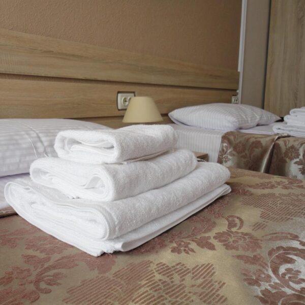 Ванные принадлежности в номере санаторий Дубрава