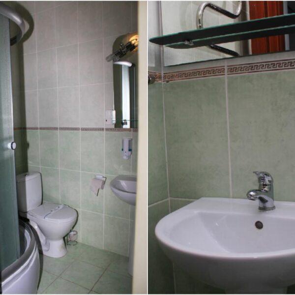 Ванна кімната в санаторіїї Діброва