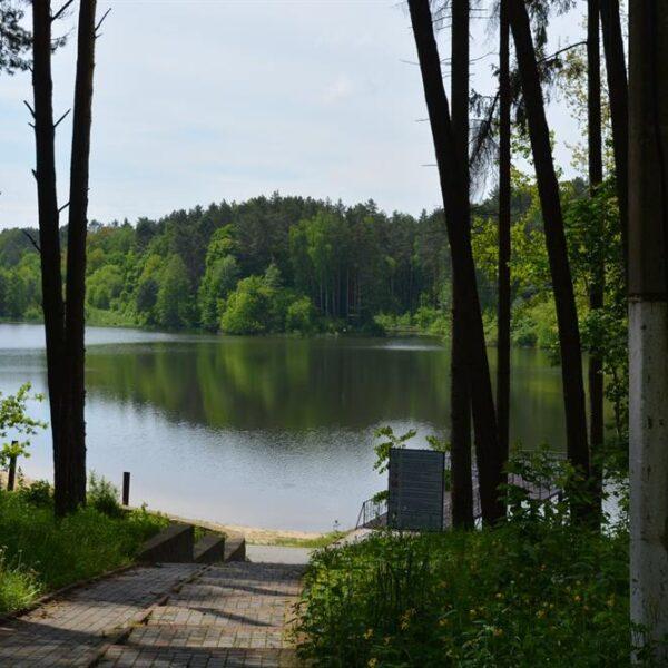 Озеро на території санаторія Пролісок