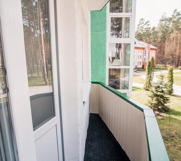 Балкон в номері санаторій Пролісок