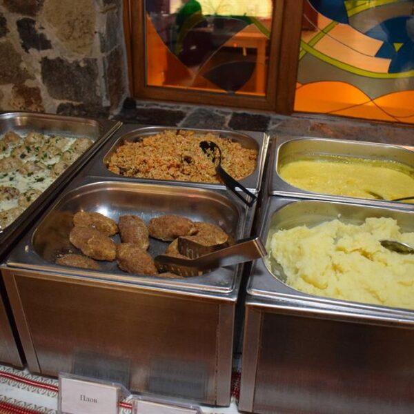 Полезная еда в ресторане санатория Пролисок