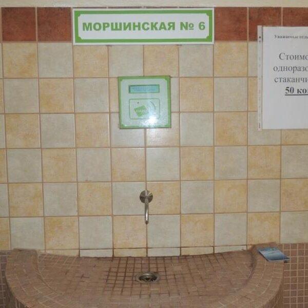 """Мінеральна вода в бюветі санаторій """"Біла Акація"""""""