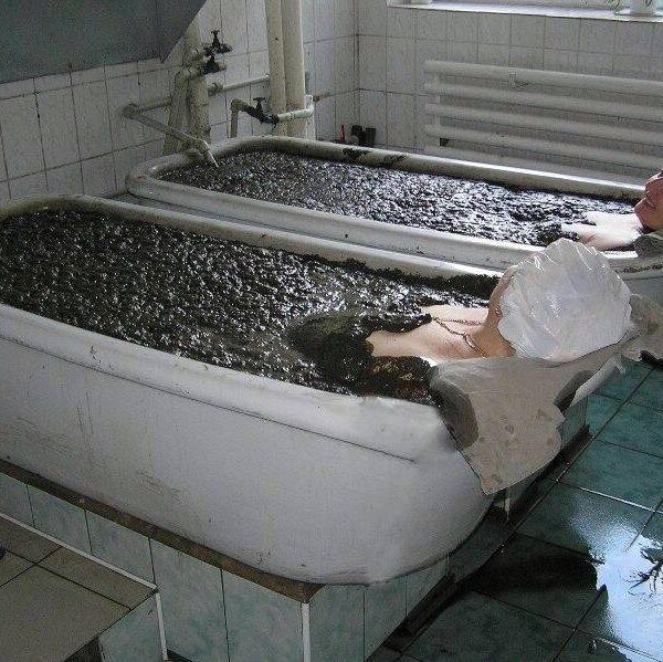 Медичні процедури в санаторії Куяльник