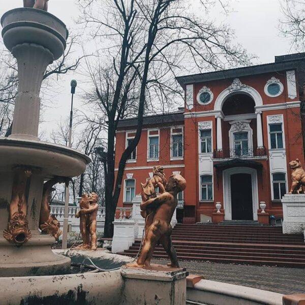 Фасад санатория Горького Одесса