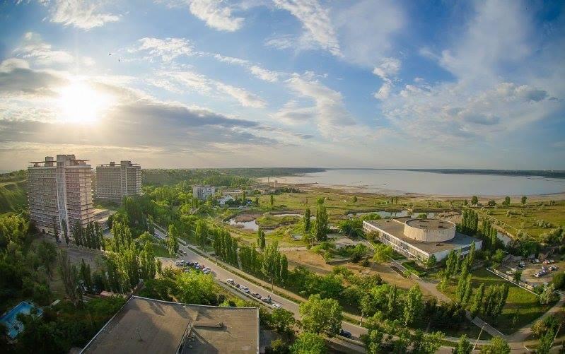 Морський краєвид санаторій Куяльник