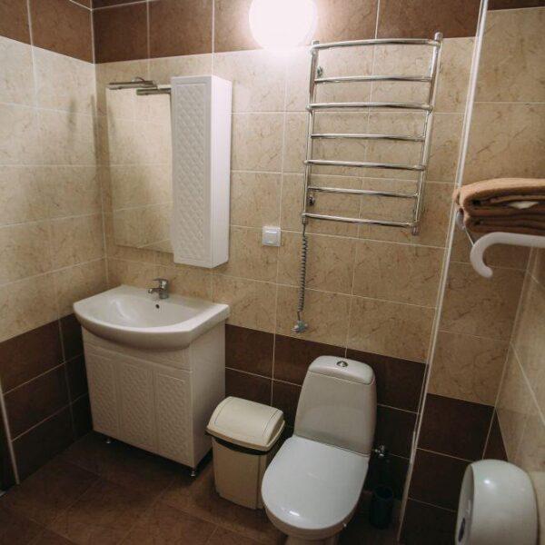 Ванна кімната в санаторії Пролісок