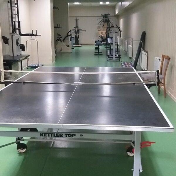 Теннис в санатории Жовтень