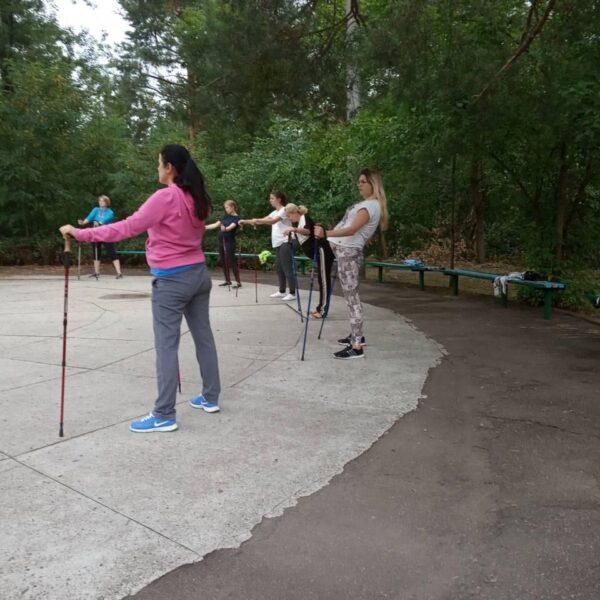 Спортивный майданчик в санатории Жовтень