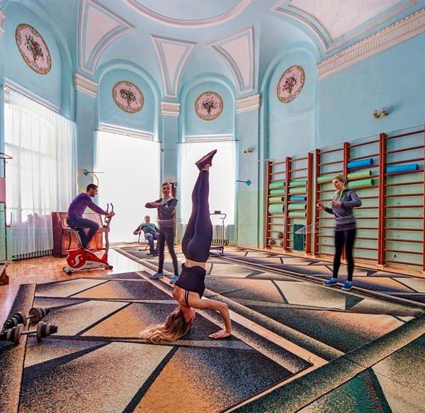 Спортивний зал санаторій Горького