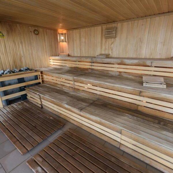 Сауна в санаторії Лаяр Палас