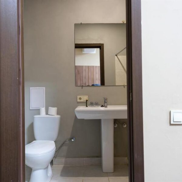 Ванна кімната в номері санаторія Лаяр Палас