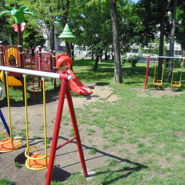 Детская площадка в санатории Одесса СБУ