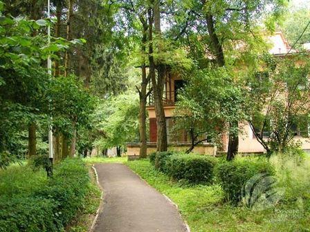 Зелена територія санаторія Любінь Великий бронювання