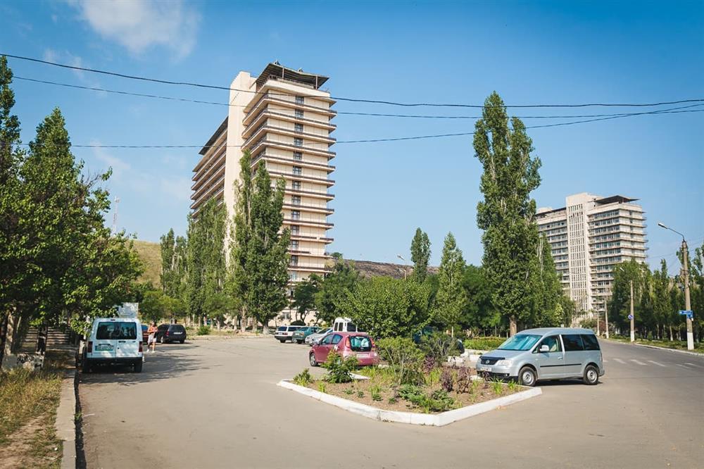 Дорога к санаторию «Куяльник»