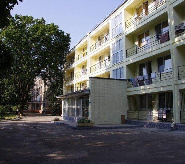 Вход в санаторий Одесса СБУ