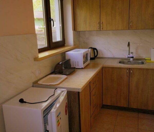 Мини кухня в доме санатория Червона Калина