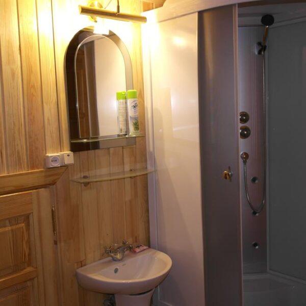 Ванная комната санаторий Червона Калина номер