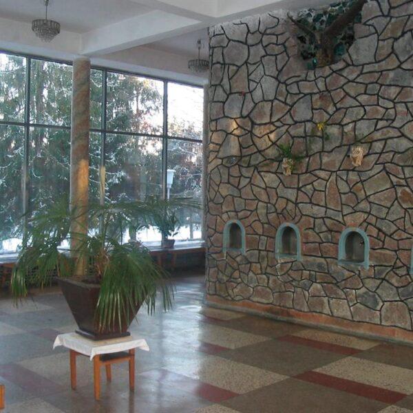 Бювет в санаторії Шкло