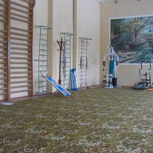 Тренажерный зал в санатории Шкло