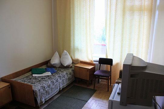 Компактний номер санаторія Шкло