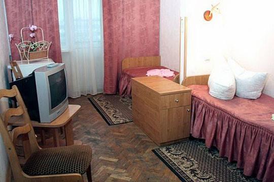 Однокомнатный номер в санатории Жовтень