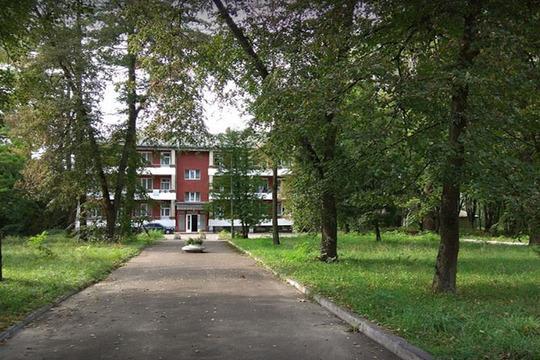 Свежий воздух в санатории Шкло